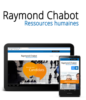 SITE RAYMOND CHABOT RESSOURCES HUMAINES