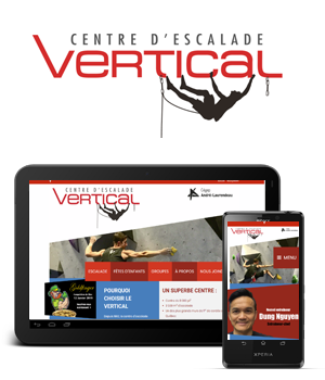 SITE WEB ESCALADE VERTICAL